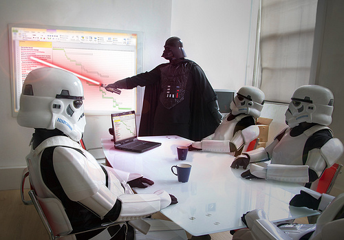 RIFLE, CO — With a number of city councilors noticeably absent at a recent budget workshop meeting, the council and city manager decided to dress up in Star Wars Rebels costumes to make the meeting somewhat more fun.