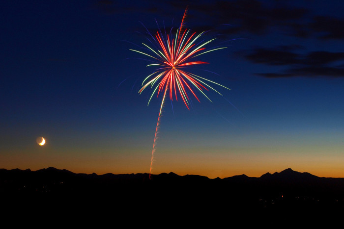 The city of Rifle will hold it's Independence day Fireworks at 9:15pm Friday, July 3rd, at Rifle's Centennial Park.
