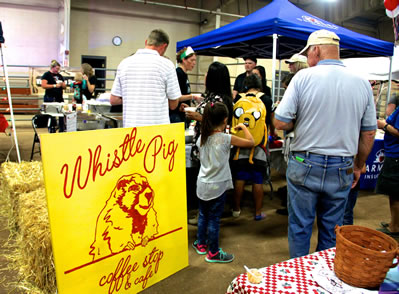 RIFLE, Colo. — They may be the new kids on the block downtown, but the Whistle Pig Coffee Stop & Cafe walked away as winners at the 36th annual Chili Cookoff on Thursday night, Oct. 1 at the Garfield County Fairgrounds.