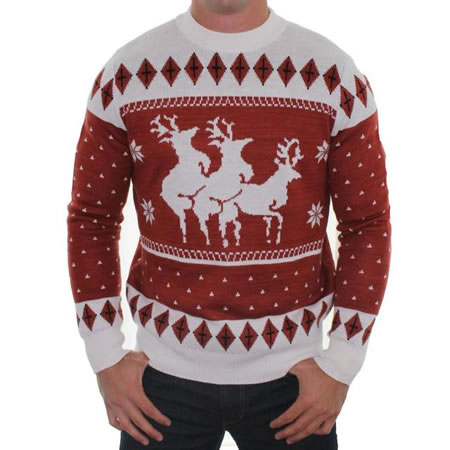 """SILT, Colo — Getting into the mood of the Christmas spirit, town residents decided to hold a """"tasteful sweater"""" fashion this year."""