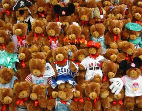 Garfield County, Colo. —    A local florist and gift shop owner apparently made a small but unfortunate clerical error when two semi-trucks filled with teddy bears arrived at her front door step yesterday.