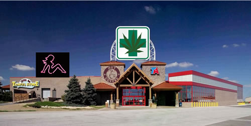 RIFLE, Colo. — A local grocery market in town is expanding and will now feature a famous coffee company, a medical marijuana dispensary, full-fledged beer joint and a brothel.
