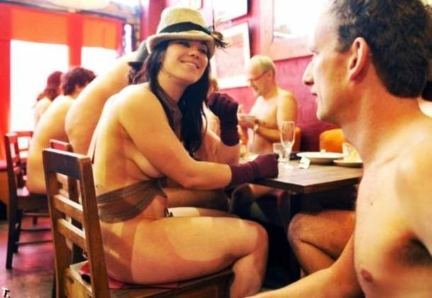 NEW CASTLE, Colo. -The town will open its first clothing-optional bar this summer, copying a similar establishment in London.