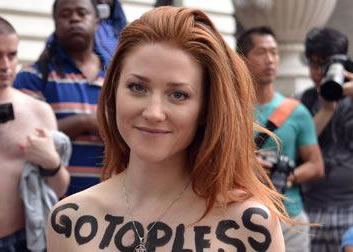 "SILT, Colo — Women throughout town plan to remove their shirts in honor ""Boobday,"" a celebration started by a group called Go Topless Day.  The movement was started by a man in Nevada in 2007."