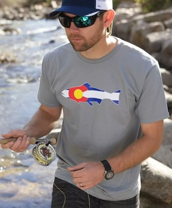 GARFIELD COUNTY, Colo. — Sales of Colorado T-shirts, hats and other paraphernalia have skyrocketed, but they are not being purchased by locals.