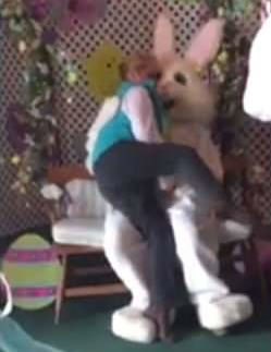 RIFLE, Colo. — A 54-year-old woman was arrested recently for allegedly making lewd comments to the Easter Bunny in Centennial Park.