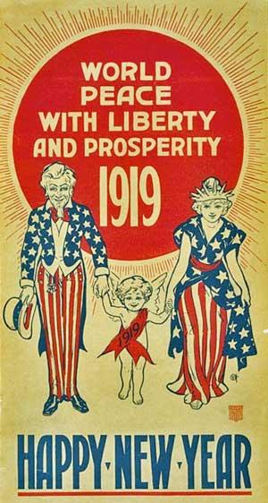 Happy New Year 1919