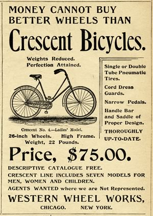 crescent bicycles